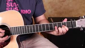 acoustic guitar with capo