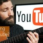 learning guitar on YouTube
