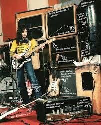 Eddie Van Halen in studio