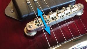 guitar string intonation