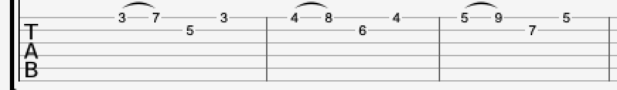 melodic shapes