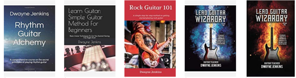 Dwayne Jenkins Guitar Method Books
