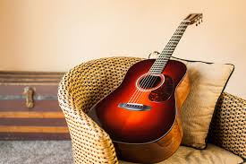 acoustic guitar wanting to be played