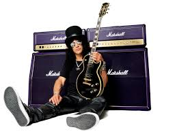 Slash with Gibson & Marshall